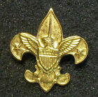 ANTIQUE 1911 Boy Scouts BSA Fleur De Lis Uniform Lapel Pin 'Be Prepared' on Back