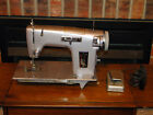 Vintage 1963 Sears Kenmore Heavy Duty Sewing Machine Model 158.432 works w/pedal
