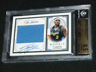 2009 09 TY LAWSON National Treasures PATCH AUTO 10 RC Rookie 99 BGS 9.5 POP 9!!