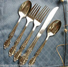 25pcs (5 pl.settings) VICTORIAN ROSE, Silver Plate Wm Rogers & Son-