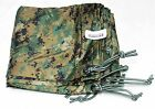 USMC Field Tarp (ORC Industries) Woodland MarPat / Coyote Digital CAMO New TARP