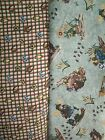 2 YDS Northcott Moose at Summer Camp QUILT FABRIC SET by Tenderberry Stitches