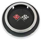 NEW Trim Parts Finned Wheel Cover Emblem Assembly FOR 1968 74 CORVETTE 5953