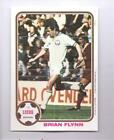 TOPPS Chewing Gum Footballers RARE football Poster Leeds United BRIAN FLYNN