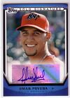2011 Topps Pro Debut Solo Signatures #OP Omar Poveda AUTO