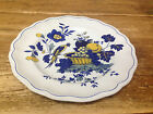 Spode Blue Bird England Fine Stoneware Yellow S3274 Asian Flowers 1 Dinner Plate