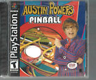 Austin Powers Pinball (Sony PlayStation 1, 2002) PS1 with Instructions