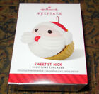 2014 Hallmark Ornament SWEET ST. NICK-- Christmas Cupcakes Series NEW IN BOX