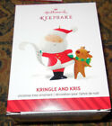 2014 Hallmark Ornament Kringle And Kris First In Series NEW IN BOX