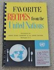vintage UNITED NATIONS COOKBOOK recipes 1956 world dishes