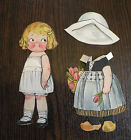 Dolly Dingle Campbell's Kids WW2 Paper Doll Vtg Dutch Foreign Outfit Magazine
