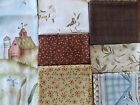 Weeds N Tweeds for Red Rooster Fabric Quilt Fabric Kit Size 46