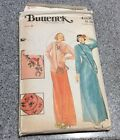 Butterick 4530 KENZO Asian Dress Caftan Top Pants Bag Vintage Mandarin Collar