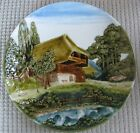 German Majolica Plaque Cico Germany
