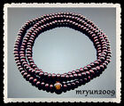 佛 Brown Wood Buddhism Prayer beads Religion Spirituality Bracelet Necklace 31