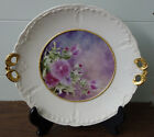 Nicely Painted Antique Dessert Plate Artist Signed Carl Tielsch Hutschenreuther