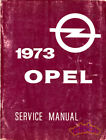 SHOP MANUAL OPEL SERVICE REPAIR 1973 BOOK GT 1900 MANTA ASCONA