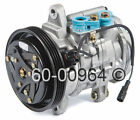Chevy Tracker 1999 2001 16L Brand New Top Quality Direct Fit A C AC Compressor