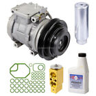 New OEM Genuine AC Compressor  Clutch + A C Repair Kit Fits Toyota Celica Prizm