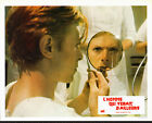 THE MAN WHO FELL TO EARTH rare original 1975 lobby card movie poster DAVID BOWIE