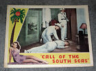 CALL OF THE SOUTH SEAS original 1944 lobby card ALLAN ROCKY LANE/DUNCAN RENALDO