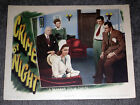 CRIME BY NIGHT original 1944 lobby card movie poster JANE WYMAN/FAYE EMERSON