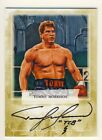 Tommy Morrison 2011 Ringside Boxing Round 2 Autograph Auto Card Gold 10 #A-TM1