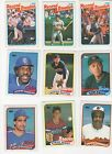 1989 TOPPS BASEBALL CARDS COMPLETE SET 1-792 HAND COLLATED