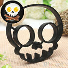 Utility Cute Skull Owl Egg Fried Shaped Mould Shaper Ring Useful Cooking Tool