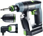 Festool Cordless Drill CXS Li 2,6-Set GB 240V 564533 FREE NEXT DAY DELIVERY