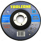 DEPRESSED CENTRE METAL CUTTING DISC 115mm x 22.2mm Angle Grinder Cut Off 4 1/2
