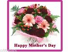 Happy Mothers Day Gift Card Insert Bundled Flowers Refrigerator Magnet #6