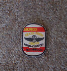 VIETNAM WAR PATCH-US 187th ASSAULT HELICOPTER Co MUNGS DEATH FROM ABOVE PATCH