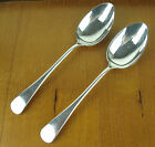 2 x SERVING SPOONS Birks Regency Plate OLD ENGLISH silverplate