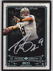 2014 Topps Museum Collection DREW BREES BLACK SILVER FRAMED AUTO 1 1! TRUE 1 1