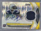 2011 Bowman Sterling PULSAR REFRACTOR PATCH AUTO Vincent Brown RC CHARGERS 12 15