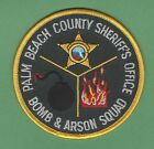PALM BEACH COUNTY FLORIDA SHERIFF BOMB SQUAD POLICE PATCH