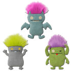 Uglydoll Bad Hair Day Classic Series 1 -Set of 3- 12-Inch Plush Toy Figures-Gund