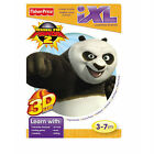 Fisher Price iXL Learning System Kung Fu Panda 2 + 3D Glasses  NIP