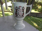 Sterling China Mayflower Donut Co. Optimist Creed Pedestal Mug Cup Doughnuts
