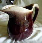 McCoy Brown Drip 32 oz Pitcher approx 6
