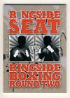 2011 Ringside Boxing Round 2 Ringside Seat Redemption Card #4 Holmes vs Cooney