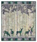 Moon Shadow Laser-Cut Quilt Kit McKenna Ryan Twilight Vale Deer Buck Batik DIY