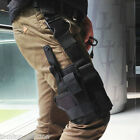 Military Tactical Puttee Thigh Leg Pistol Gun Holster Pouch Hunting 66H3