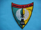 VIETNAM WAR PATCH  US 114th ASSAULT HELICOPTER COMPANY