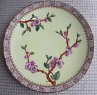 Antique E J D Bodley Burslem Yellow Cherry Blossom Plate 9 1/4 inches
