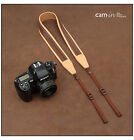 Adjustable Calfskin Cotton Leather Camera Strap NikonD800 Canon 60D Sony NEX5/6