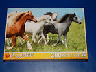 New 300 pc Jigsaw Puzzle Puzzlebug Gift Running Ponies Horses