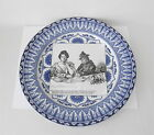 Antique Royal Doulton GIBSON GIRL Plate~~Miss Babbles Brings a Copy of a Morning