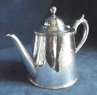 SUPERB Victorian ~ SILVER Plated ~ Scottish THISTLES ~ Engraved TEAPOT ~ c1890